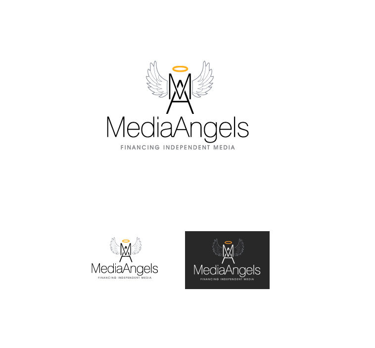 Logo Design by elmd - Entry No. 2 in the Logo Design Contest New Logo Design for Media Angels.