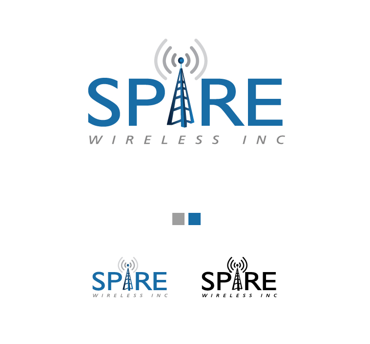 Logo Design by elmd - Entry No. 4 in the Logo Design Contest Logo Design for Spire Wireless Inc.