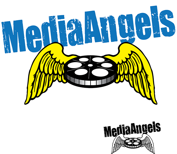 Logo Design by Lefky - Entry No. 10 in the Logo Design Contest New Logo Design for Media Angels.