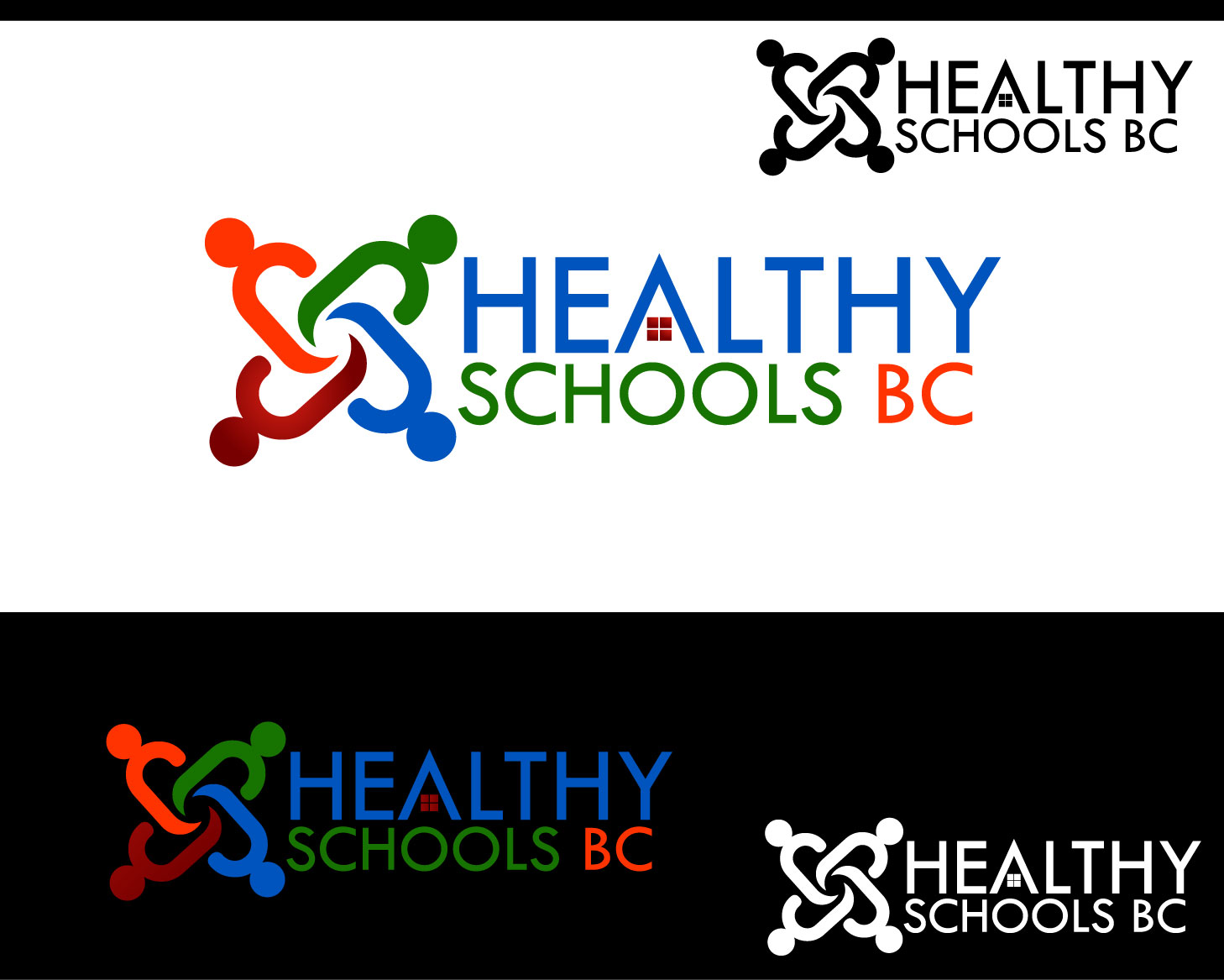 Logo Design by Private User - Entry No. 164 in the Logo Design Contest SImple, Creative and Clean Logo Design for Healthy Schools British Columbia, Canada.