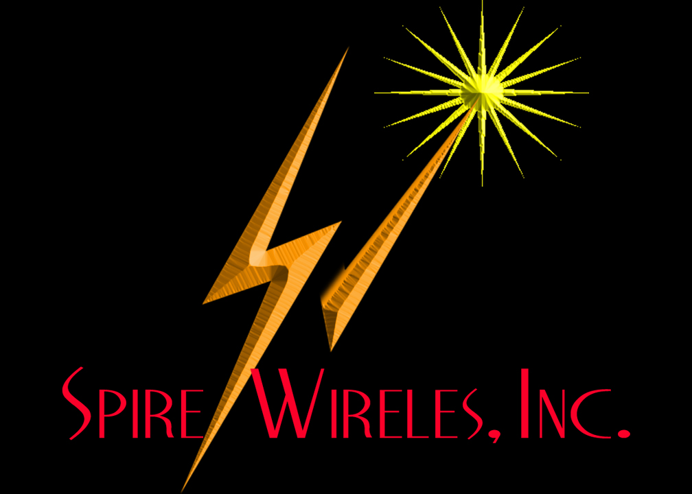 Logo Design by Kitz Clear - Entry No. 8 in the Logo Design Contest Logo Design for Spire Wireless Inc.
