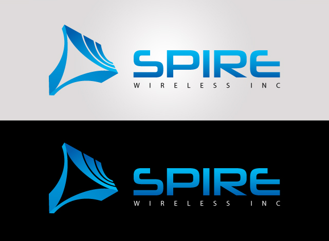 Logo Design by Private User - Entry No. 16 in the Logo Design Contest Logo Design for Spire Wireless Inc.