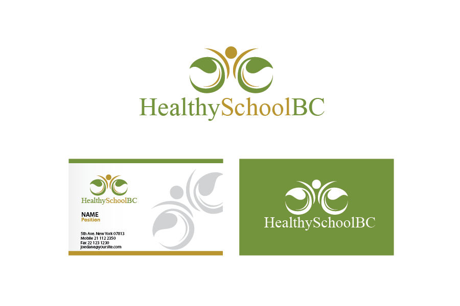 Logo Design by Private User - Entry No. 171 in the Logo Design Contest SImple, Creative and Clean Logo Design for Healthy Schools British Columbia, Canada.