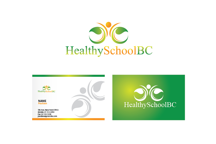 Logo Design by Private User - Entry No. 172 in the Logo Design Contest SImple, Creative and Clean Logo Design for Healthy Schools British Columbia, Canada.