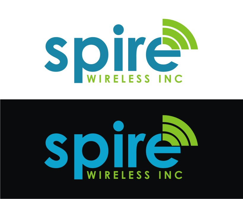 Logo Design by Reivan Ferdinan - Entry No. 18 in the Logo Design Contest Logo Design for Spire Wireless Inc.
