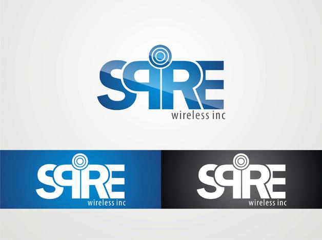 Logo Design by Suroso Tansaliman - Entry No. 19 in the Logo Design Contest Logo Design for Spire Wireless Inc.