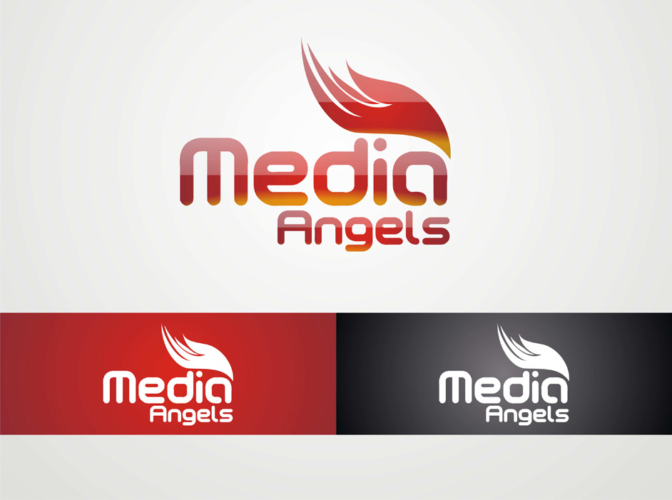 Logo Design by Suroso Tansaliman - Entry No. 12 in the Logo Design Contest New Logo Design for Media Angels.