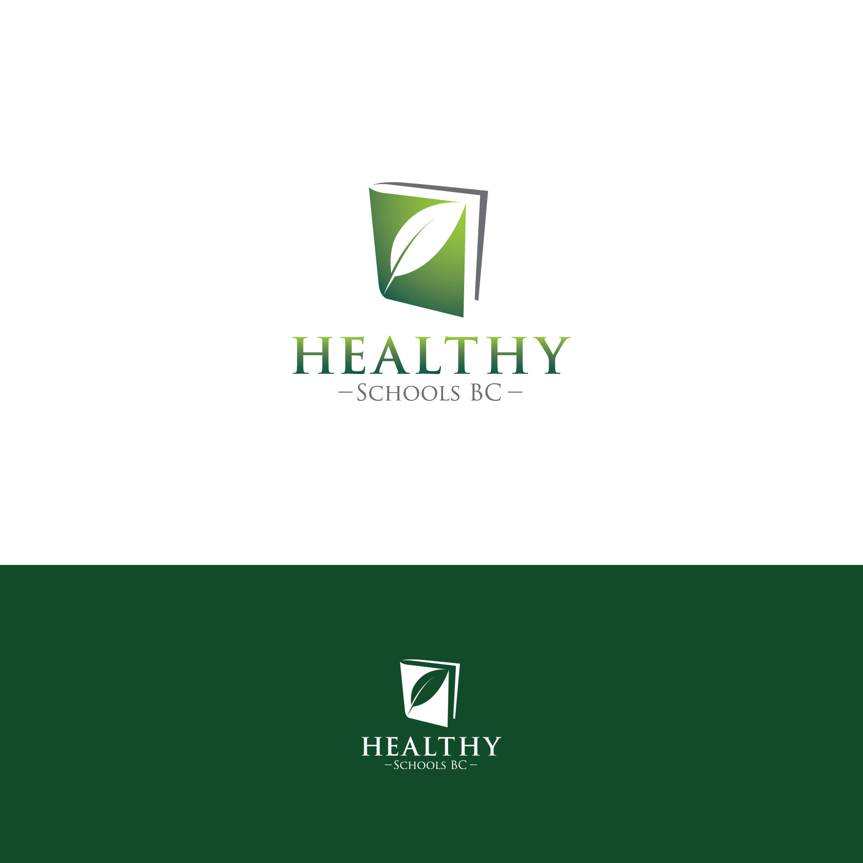 Logo Design by tanganpanas - Entry No. 177 in the Logo Design Contest SImple, Creative and Clean Logo Design for Healthy Schools British Columbia, Canada.