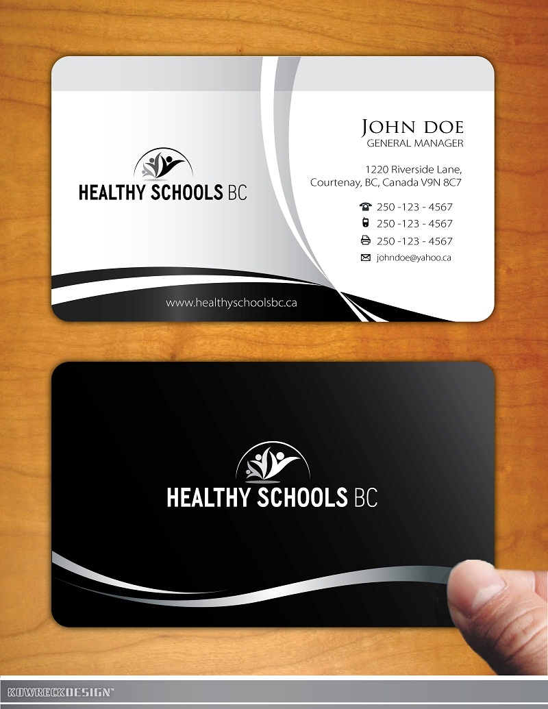 Logo Design by kowreck - Entry No. 185 in the Logo Design Contest SImple, Creative and Clean Logo Design for Healthy Schools British Columbia, Canada.
