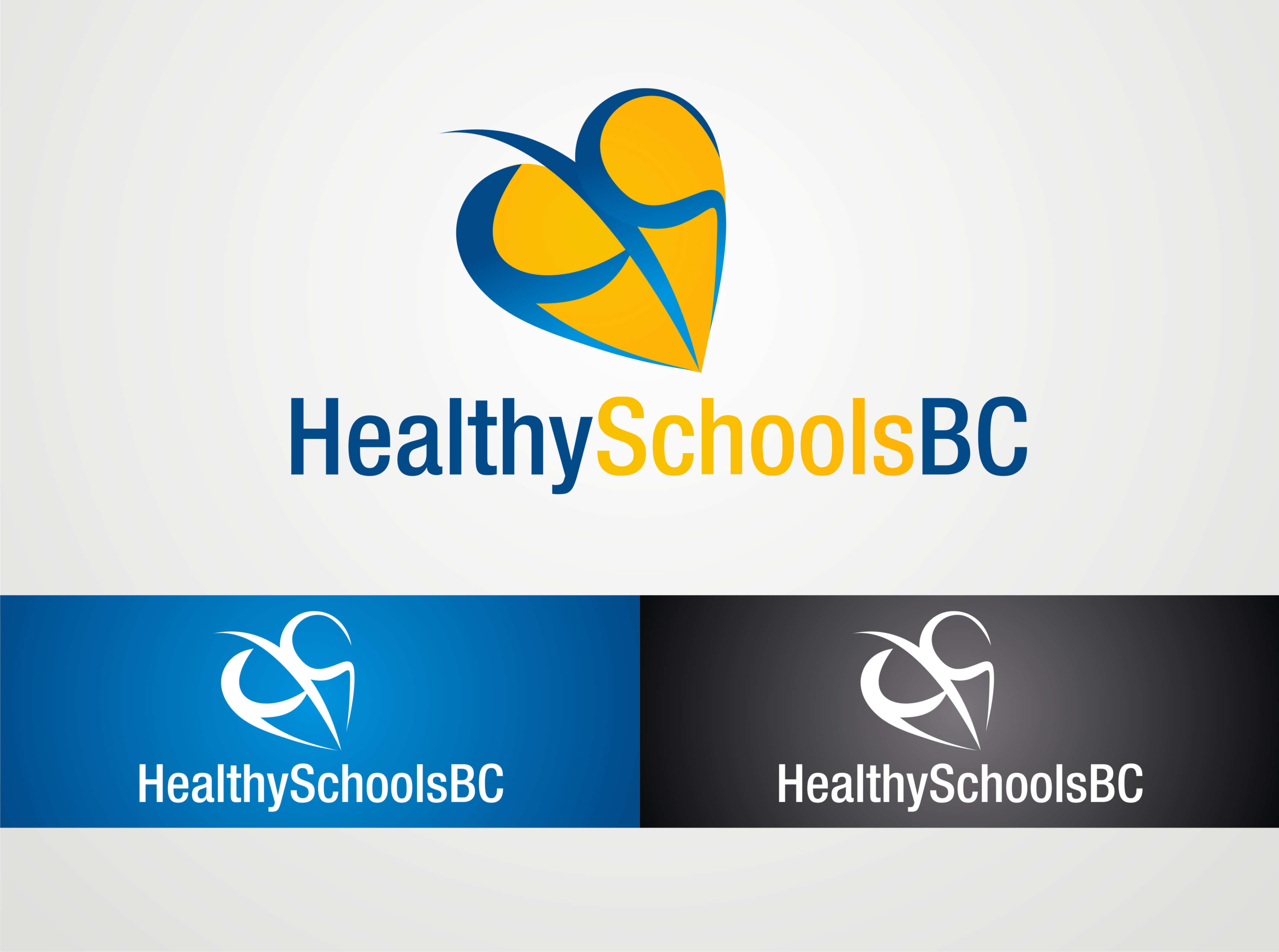 Logo Design by Suroso Tansaliman - Entry No. 192 in the Logo Design Contest SImple, Creative and Clean Logo Design for Healthy Schools British Columbia, Canada.