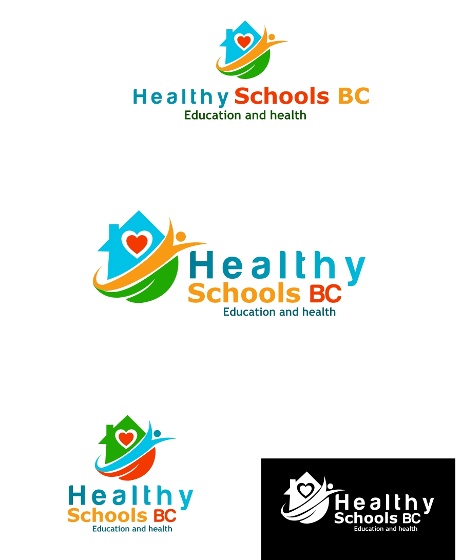 Logo Design by Private User - Entry No. 196 in the Logo Design Contest SImple, Creative and Clean Logo Design for Healthy Schools British Columbia, Canada.