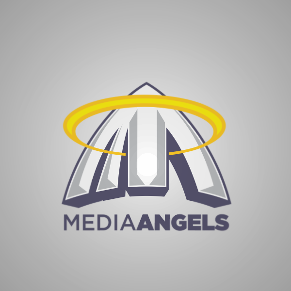 Logo Design by Private User - Entry No. 23 in the Logo Design Contest New Logo Design for Media Angels.