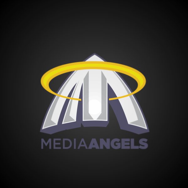 Logo Design by Private User - Entry No. 24 in the Logo Design Contest New Logo Design for Media Angels.