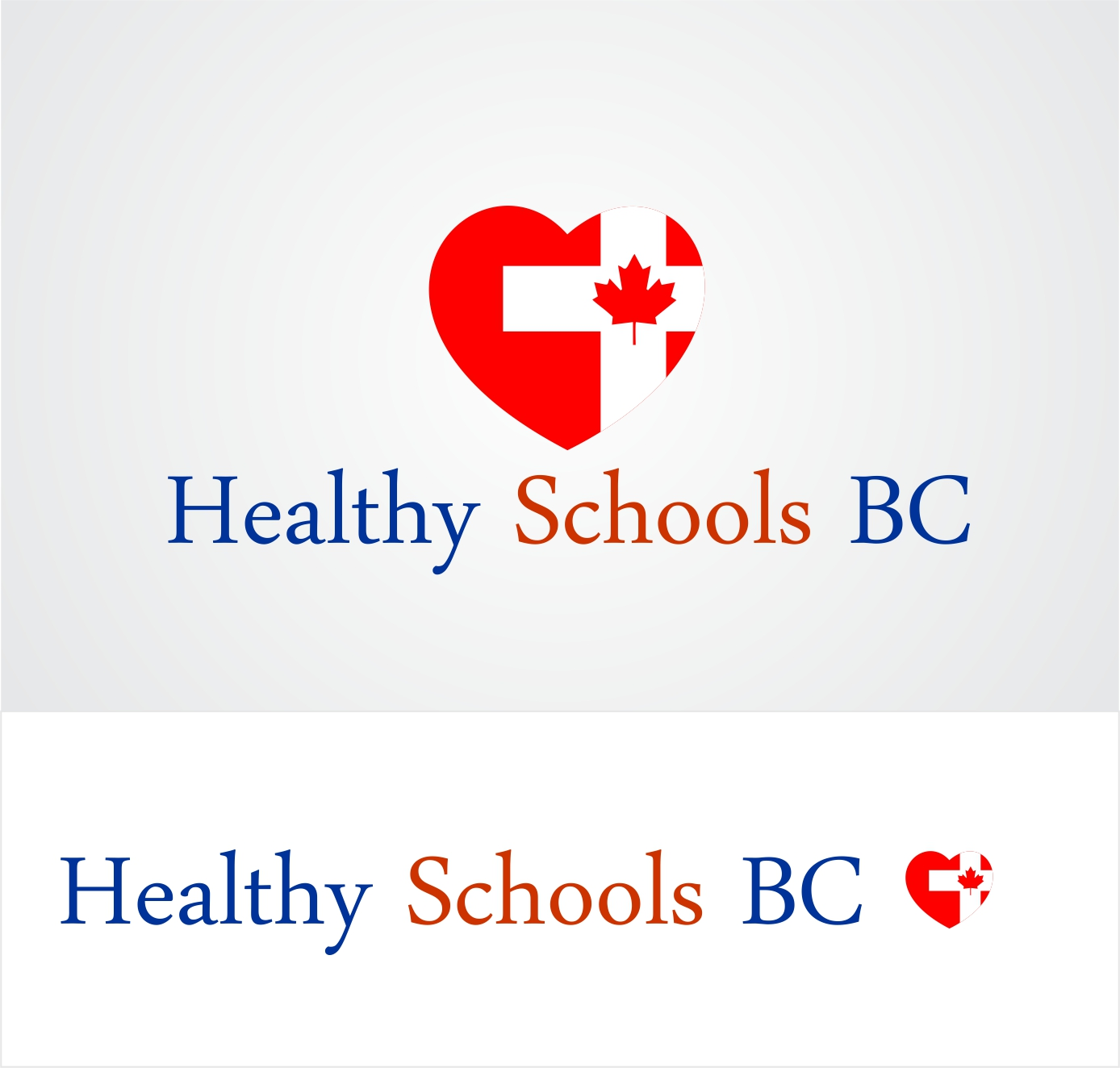 Logo Design by Hudy Wake - Entry No. 214 in the Logo Design Contest SImple, Creative and Clean Logo Design for Healthy Schools British Columbia, Canada.