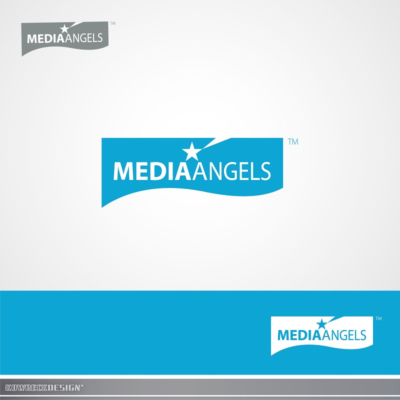 Logo Design by kowreck - Entry No. 27 in the Logo Design Contest New Logo Design for Media Angels.