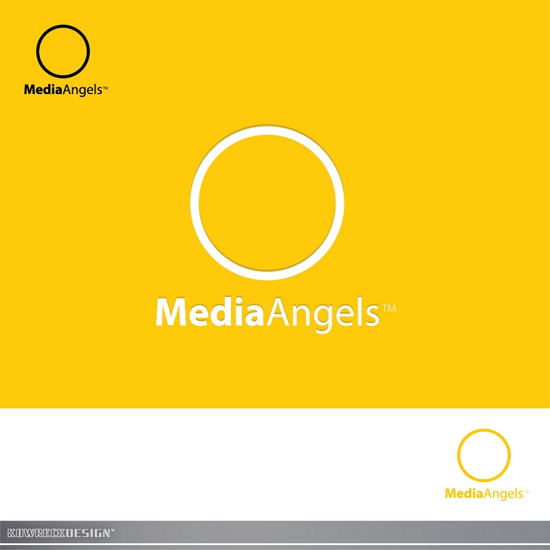 Logo Design by kowreck - Entry No. 28 in the Logo Design Contest New Logo Design for Media Angels.