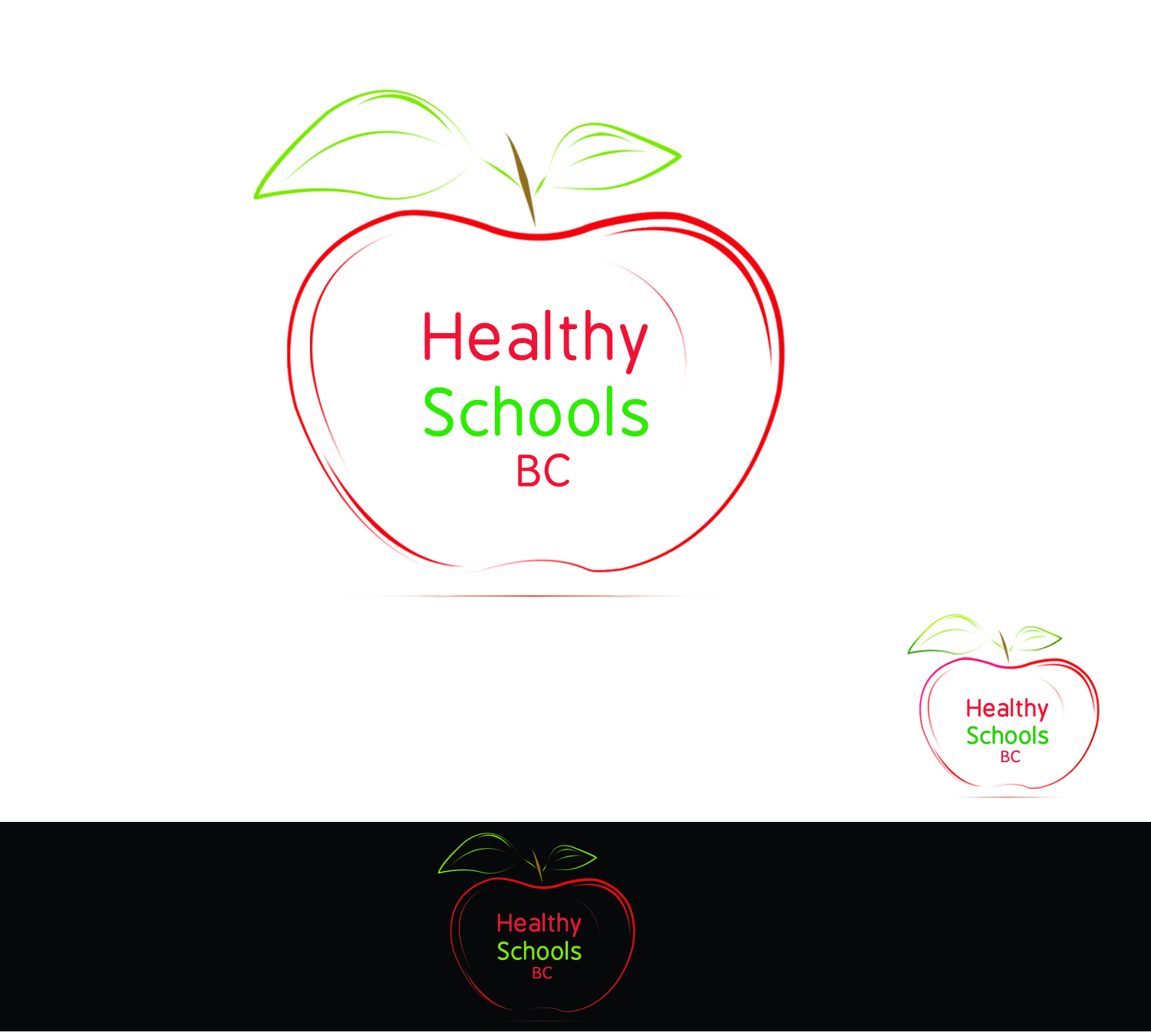 Logo Design by Uroob Rubbani - Entry No. 222 in the Logo Design Contest SImple, Creative and Clean Logo Design for Healthy Schools British Columbia, Canada.