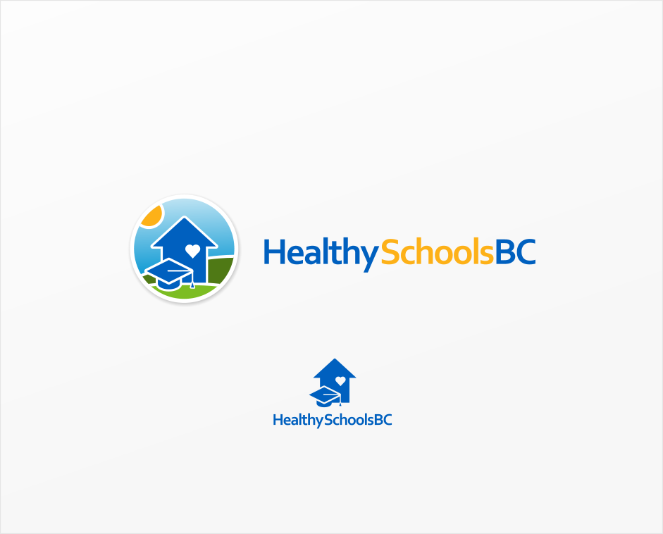 Logo Design by Jorge Sardon - Entry No. 236 in the Logo Design Contest SImple, Creative and Clean Logo Design for Healthy Schools British Columbia, Canada.