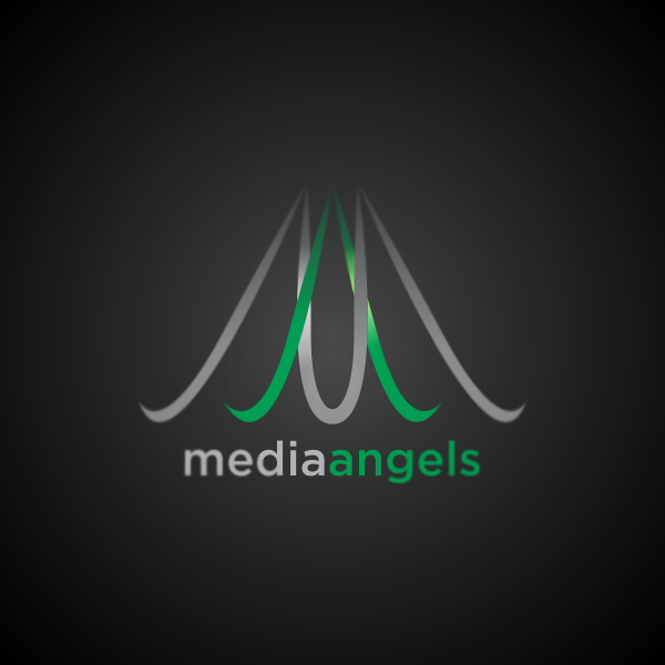 Logo Design by Private User - Entry No. 43 in the Logo Design Contest New Logo Design for Media Angels.