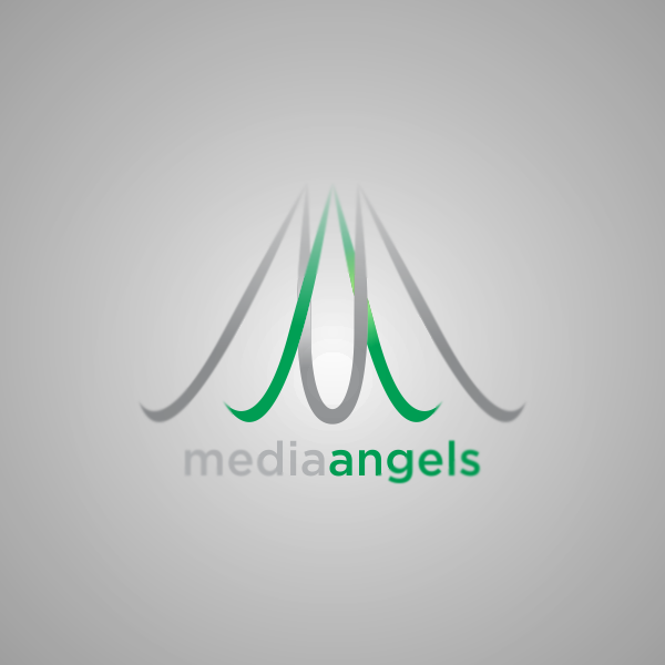 Logo Design by Private User - Entry No. 44 in the Logo Design Contest New Logo Design for Media Angels.