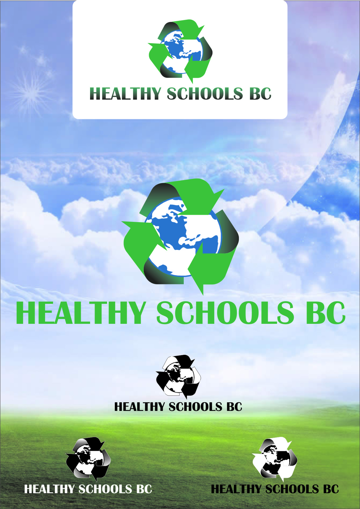 Logo Design by RoSyid Rono-Rene On Java - Entry No. 237 in the Logo Design Contest SImple, Creative and Clean Logo Design for Healthy Schools British Columbia, Canada.
