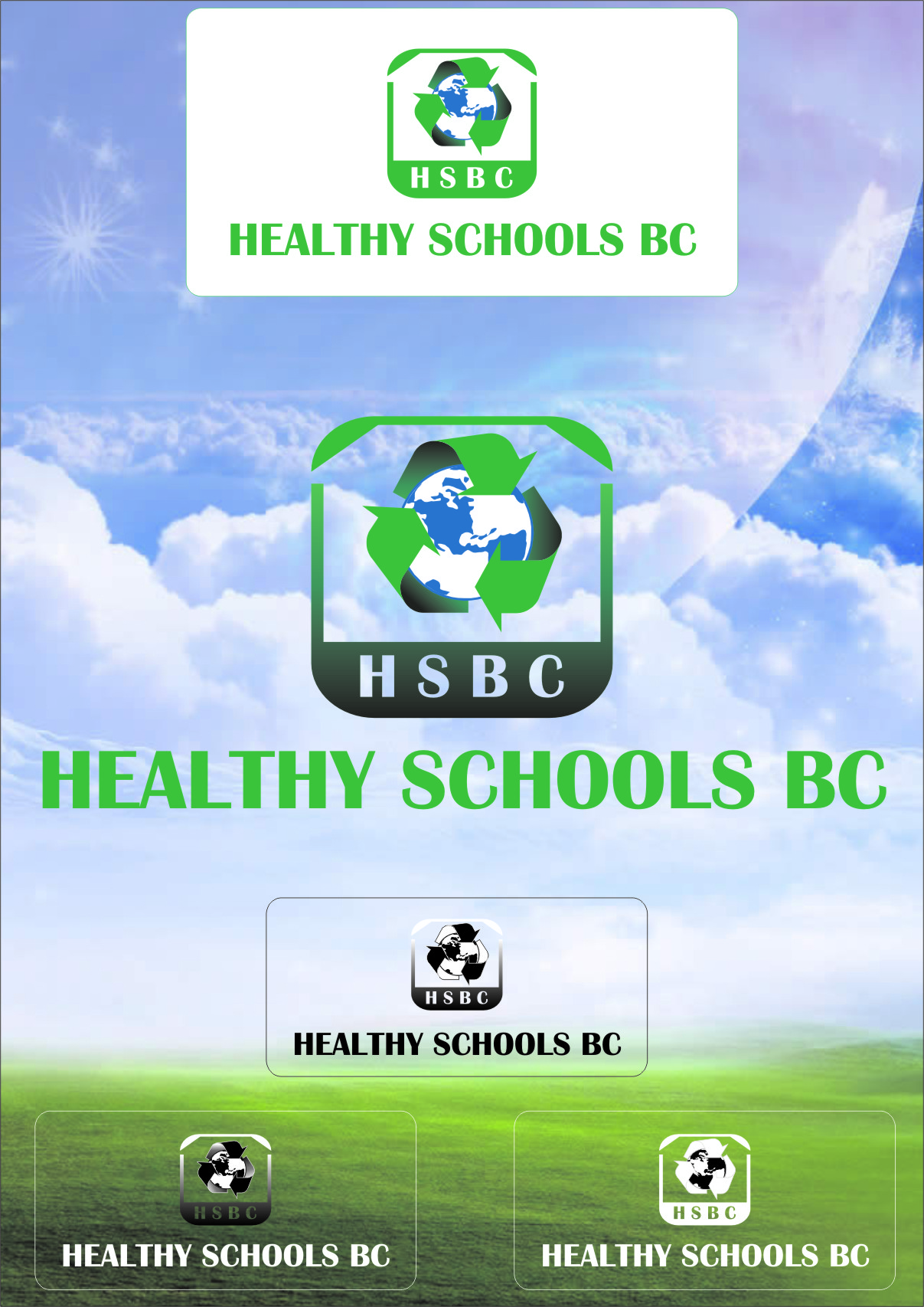 Logo Design by RasYa Muhammad Athaya - Entry No. 238 in the Logo Design Contest SImple, Creative and Clean Logo Design for Healthy Schools British Columbia, Canada.
