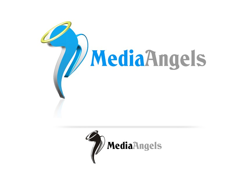 Logo Design by Respati Himawan - Entry No. 54 in the Logo Design Contest New Logo Design for Media Angels.