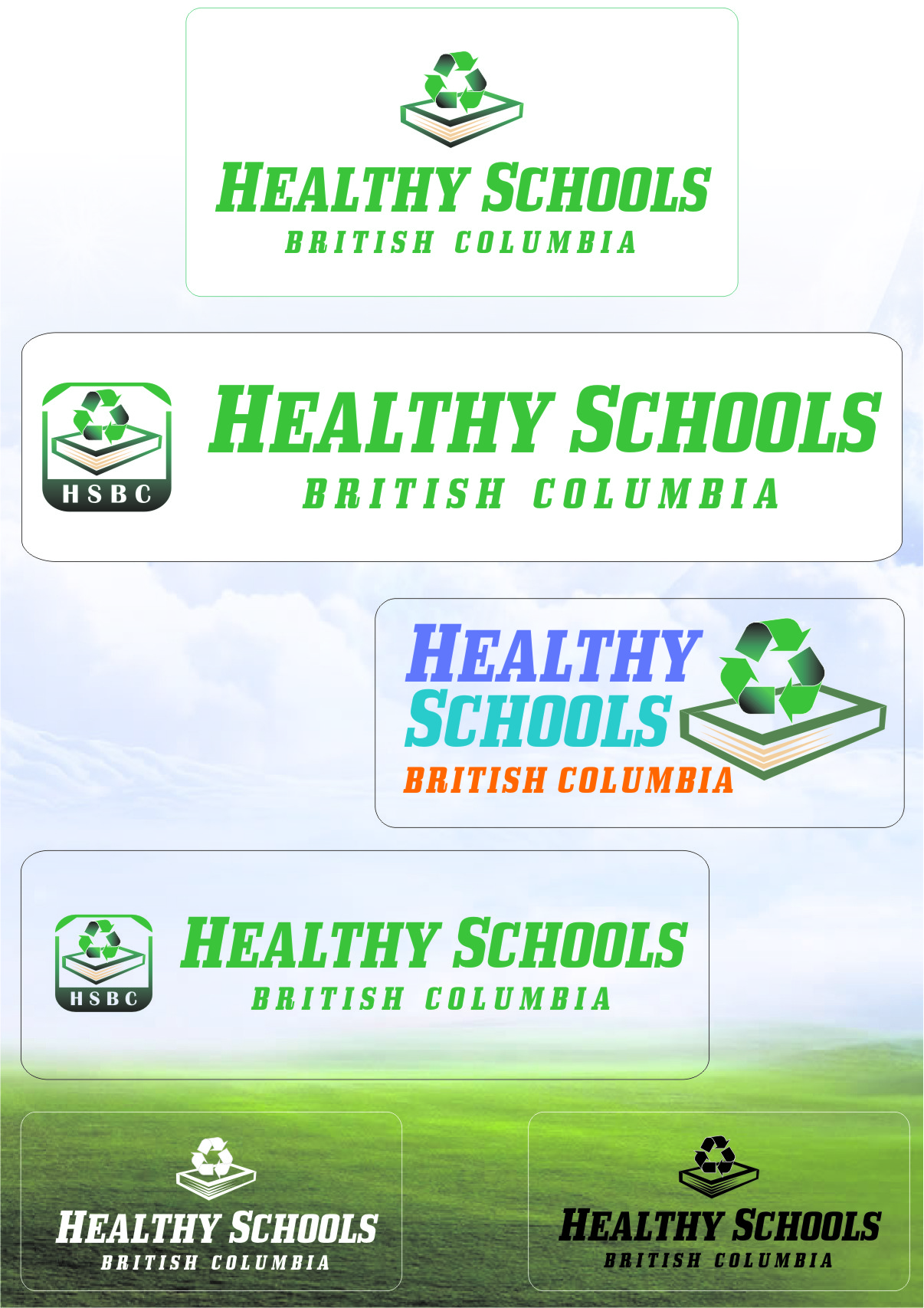 Logo Design by RasYa Muhammad Athaya - Entry No. 251 in the Logo Design Contest SImple, Creative and Clean Logo Design for Healthy Schools British Columbia, Canada.
