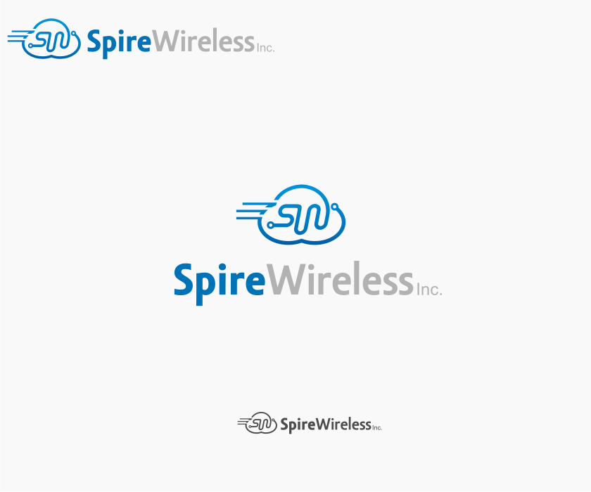 Logo Design by graphicleaf - Entry No. 48 in the Logo Design Contest Logo Design for Spire Wireless Inc.
