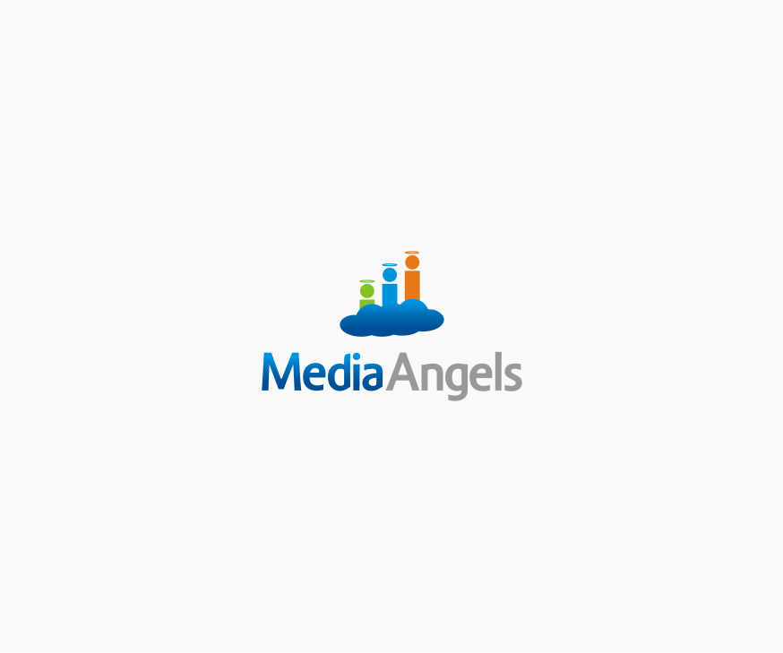 Logo Design by graphicleaf - Entry No. 64 in the Logo Design Contest New Logo Design for Media Angels.