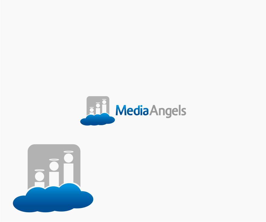 Logo Design by graphicleaf - Entry No. 65 in the Logo Design Contest New Logo Design for Media Angels.