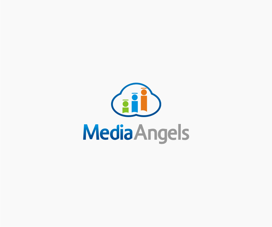 Logo Design by graphicleaf - Entry No. 66 in the Logo Design Contest New Logo Design for Media Angels.