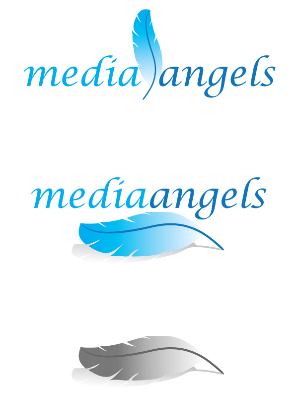 Logo Design by Aloisius Bayu Sasongko - Entry No. 67 in the Logo Design Contest New Logo Design for Media Angels.