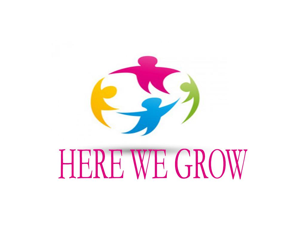 Logo Design by Geet Sharma - Entry No. 105 in the Logo Design Contest Here We Grow Logo Design.