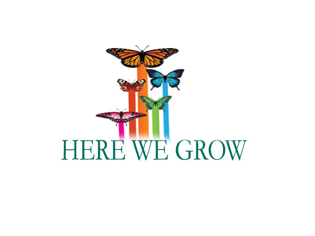 Logo Design by Geet Sharma - Entry No. 106 in the Logo Design Contest Here We Grow Logo Design.