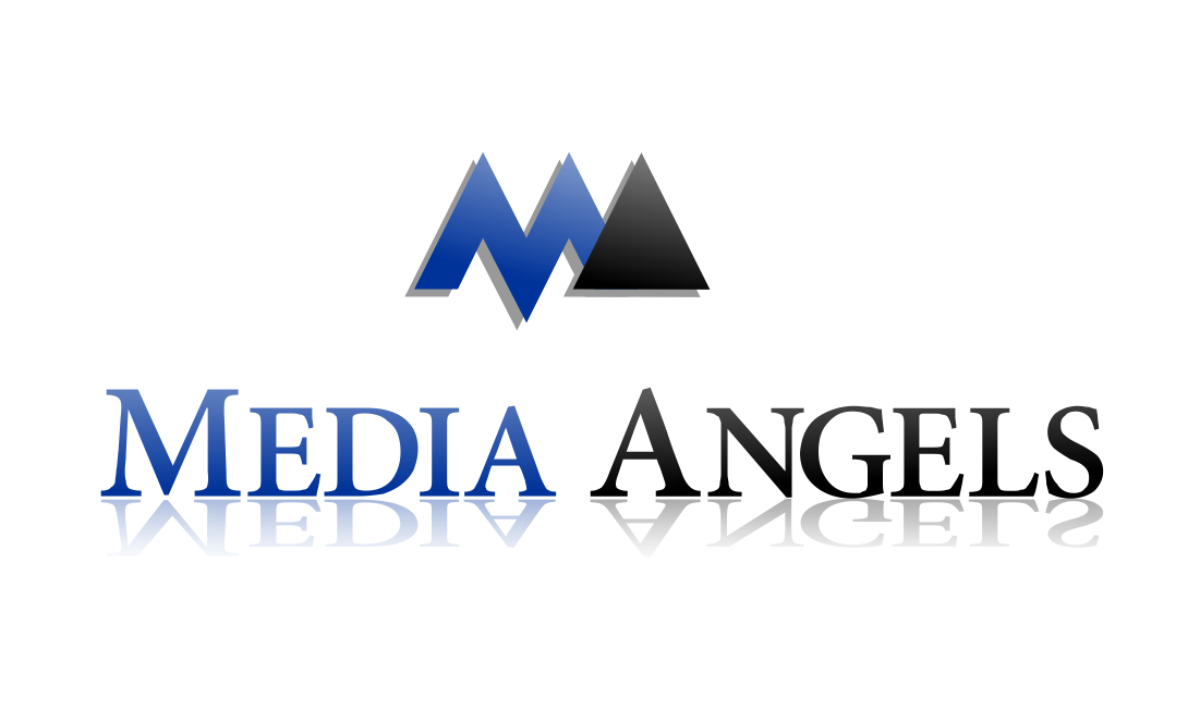 Logo Design by ASEP NURROHMAN - Entry No. 70 in the Logo Design Contest New Logo Design for Media Angels.