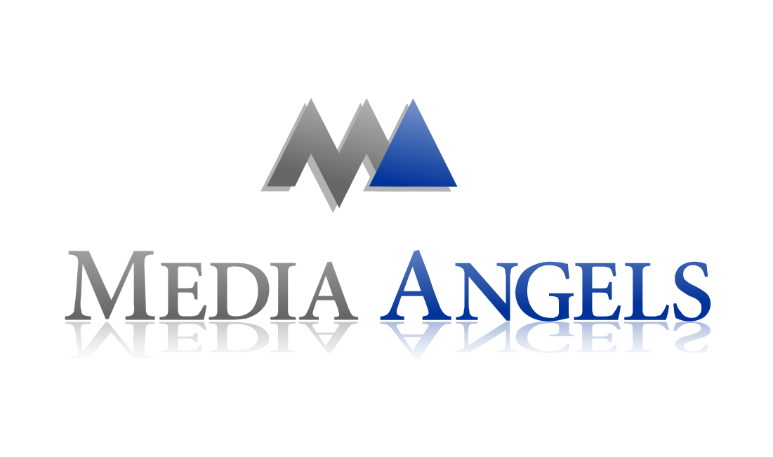 Logo Design by ASEP NURROHMAN - Entry No. 71 in the Logo Design Contest New Logo Design for Media Angels.