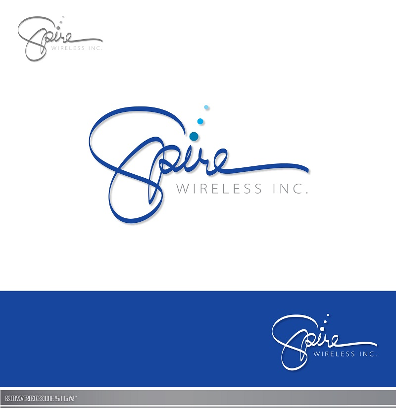 Logo Design by kowreck - Entry No. 61 in the Logo Design Contest Logo Design for Spire Wireless Inc.
