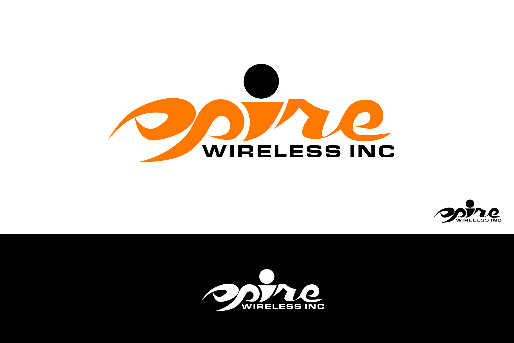 Logo Design by Abraham Romanillos - Entry No. 62 in the Logo Design Contest Logo Design for Spire Wireless Inc.
