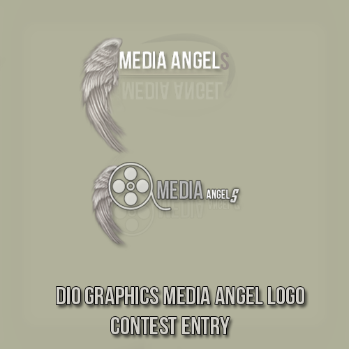 Logo Design by Dio Graphics - Entry No. 75 in the Logo Design Contest New Logo Design for Media Angels.