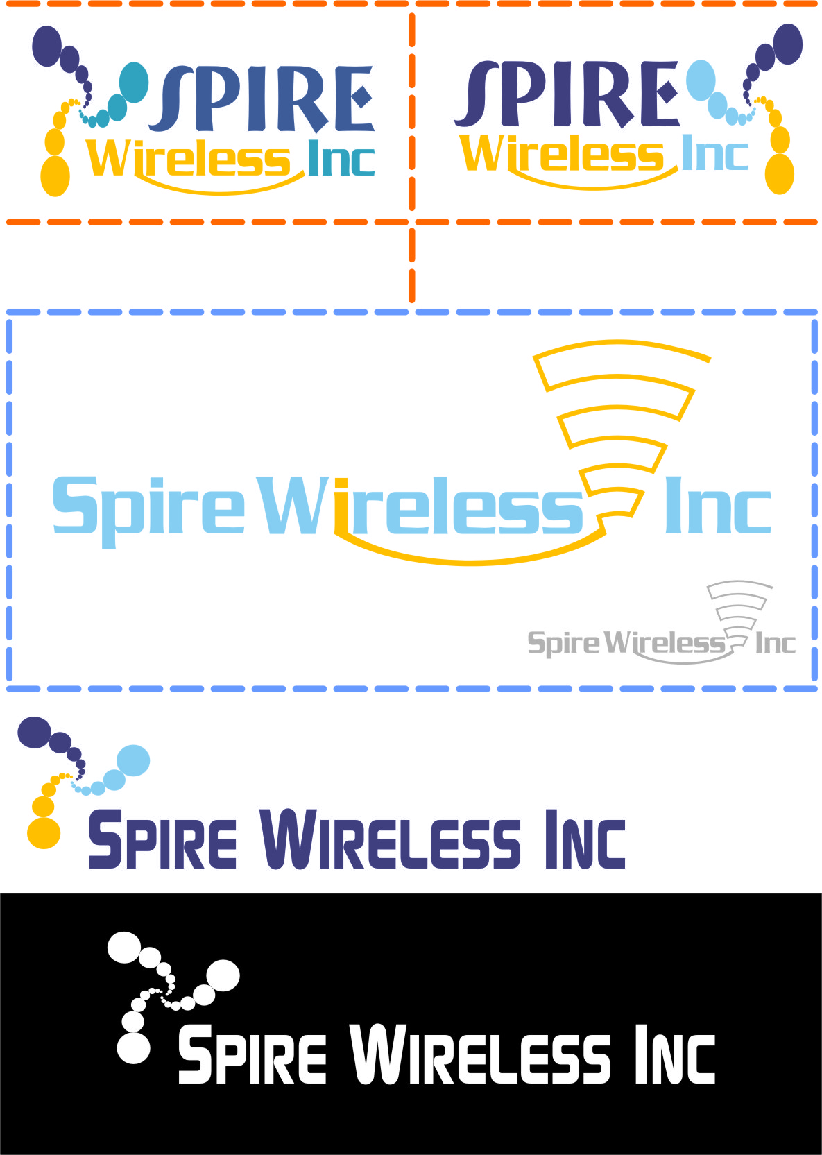 Logo Design by RasYa Muhammad Athaya - Entry No. 66 in the Logo Design Contest Logo Design for Spire Wireless Inc.