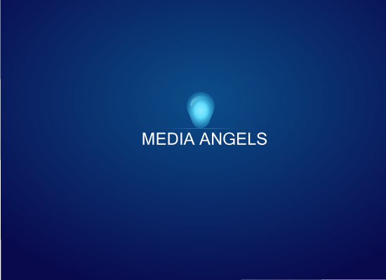 Logo Design by Zee Vil - Entry No. 77 in the Logo Design Contest New Logo Design for Media Angels.