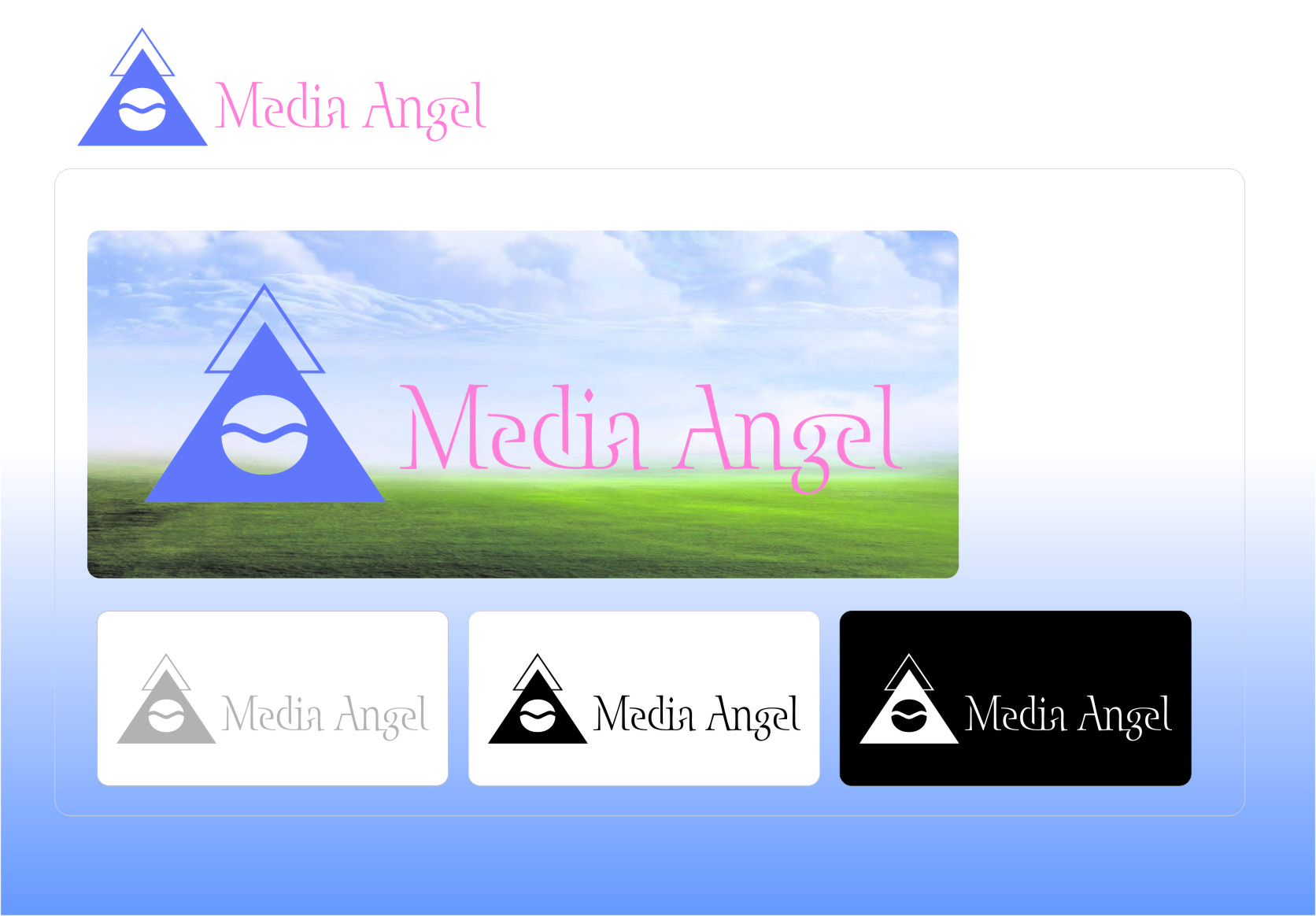 Logo Design by RasYa Muhammad Athaya - Entry No. 78 in the Logo Design Contest New Logo Design for Media Angels.