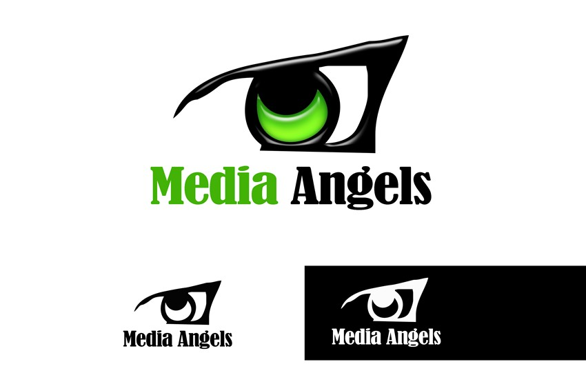 Logo Design by Respati Himawan - Entry No. 79 in the Logo Design Contest New Logo Design for Media Angels.