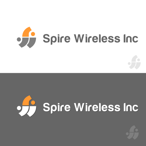 Logo Design by Rudy - Entry No. 73 in the Logo Design Contest Logo Design for Spire Wireless Inc.