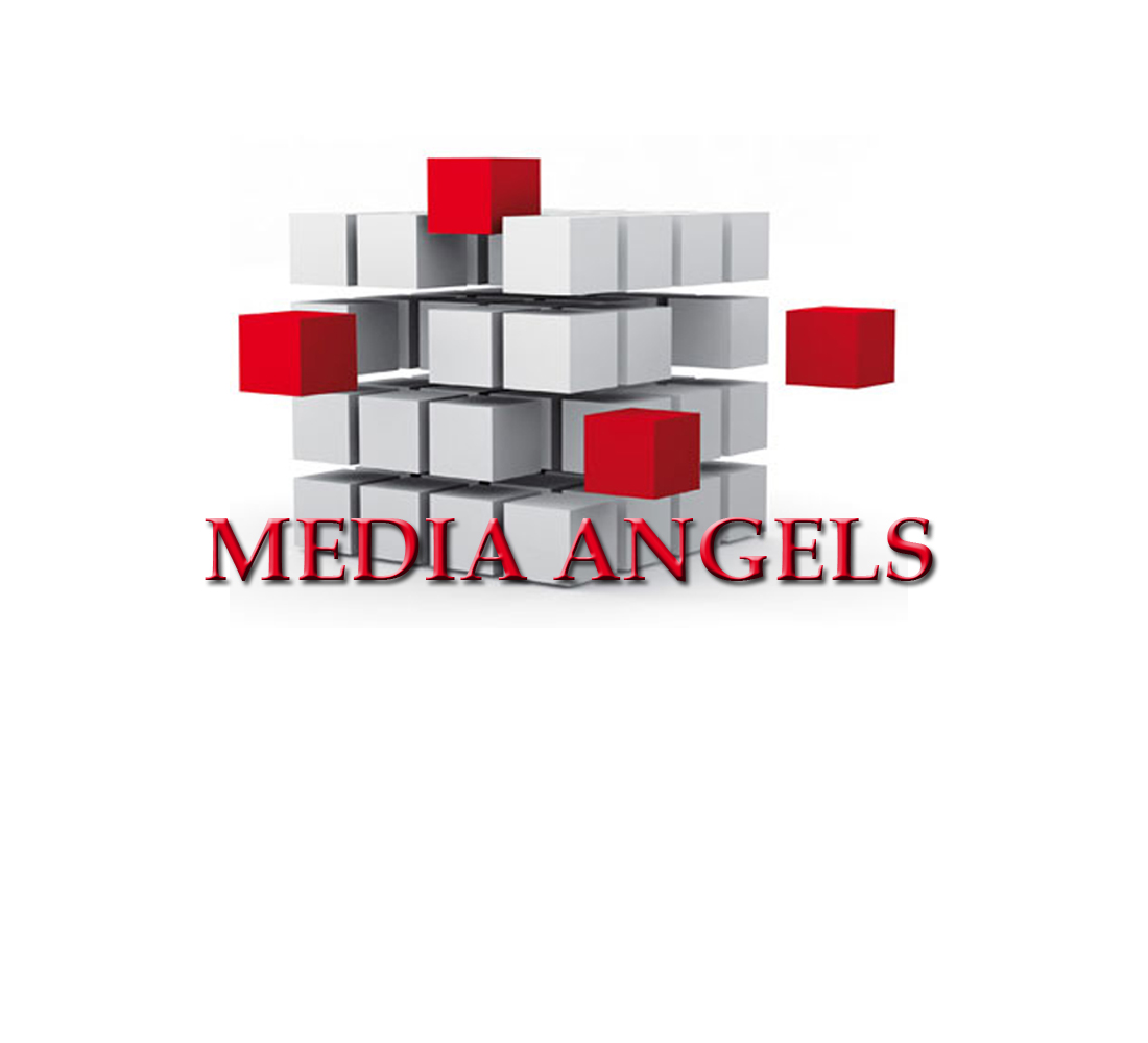 Logo Design by Geet Sharma - Entry No. 81 in the Logo Design Contest New Logo Design for Media Angels.