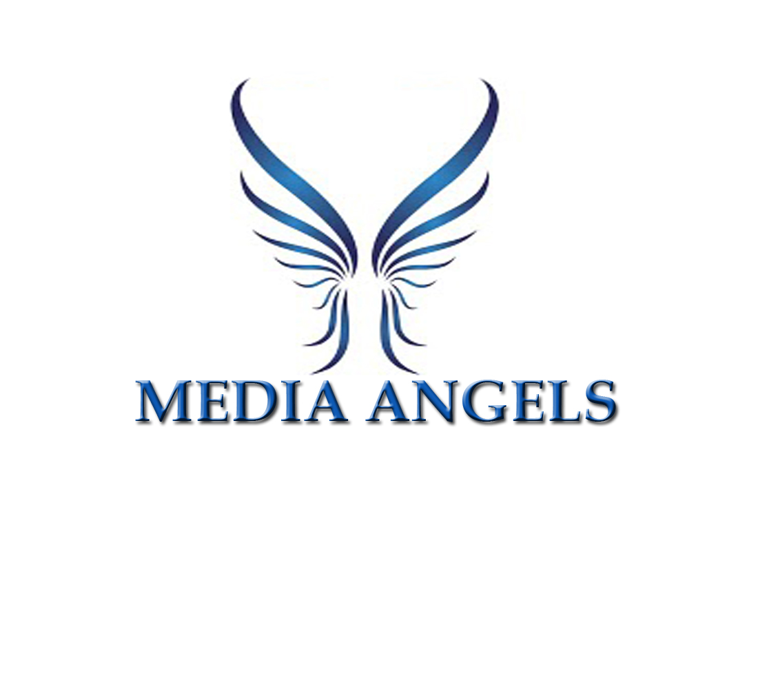 Logo Design by Geet Sharma - Entry No. 82 in the Logo Design Contest New Logo Design for Media Angels.