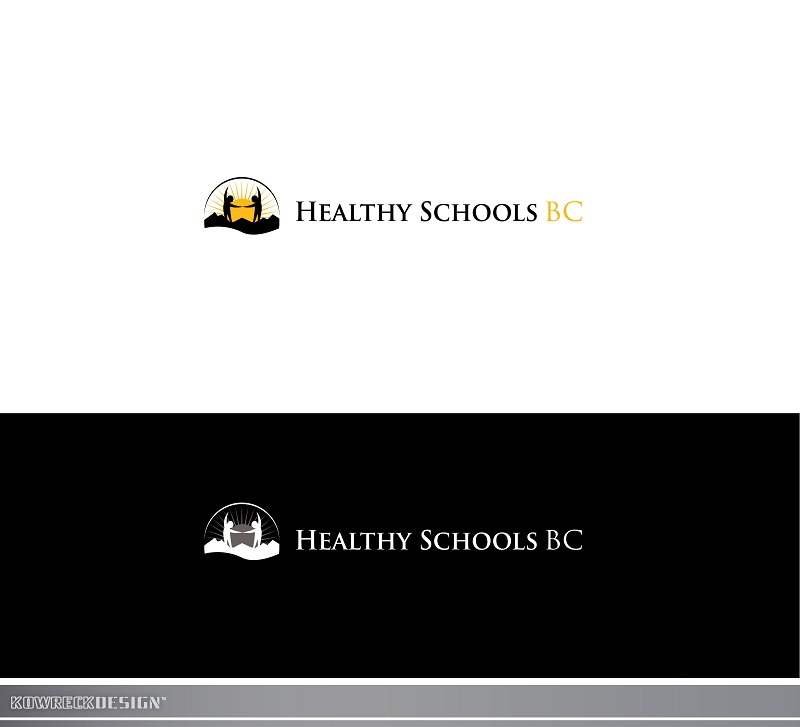 Logo Design by kowreck - Entry No. 277 in the Logo Design Contest SImple, Creative and Clean Logo Design for Healthy Schools British Columbia, Canada.