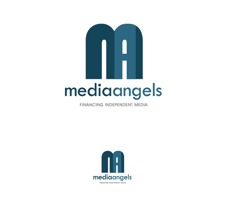 Logo Design by elmd - Entry No. 85 in the Logo Design Contest New Logo Design for Media Angels.