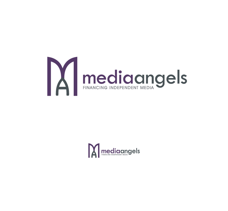 Logo Design by elmd - Entry No. 86 in the Logo Design Contest New Logo Design for Media Angels.